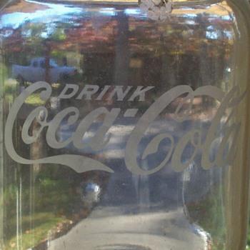 coke cola syrup jug - Coca-Cola