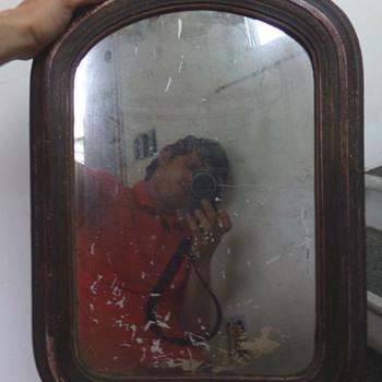 Antique Mirror Age?  - Furniture