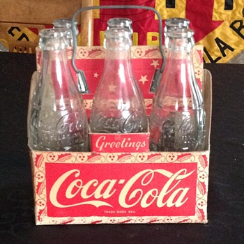 1950's Canadian Coca-Cola Carrier - Coca-Cola