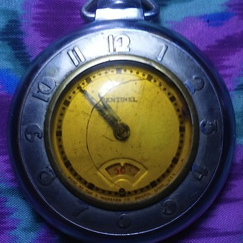 my art deco sentinel pocket watch.
