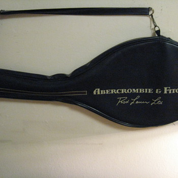 VINTAGE ABERCROMBIE & FITCH ROD LAVER TENNIS  RACQUET - Outdoor Sports