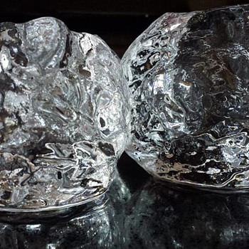 Kosta Boda Snowball Votives - Art Glass
