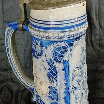 Antique or Old Beer Stein #2 - Breweriana