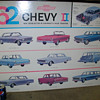 1962 Chevy II showroom poster