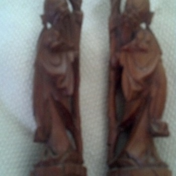Carved Statues - Asian