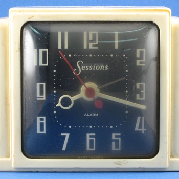 Sessions Electric Alarm Clock - Clocks