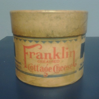 Franklin Creamed Cottage Cheese Container