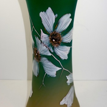 Early Loetz glass vase, ca. 1890s -PN Unknown; DEK 1/40 - Art Glass