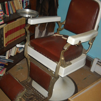 1930's Barber Chair - Furniture