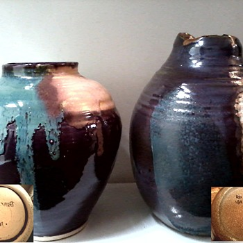"Lois Van Vleet Pottery Collection ""Plus Two"" / Circa 21st Century - Art Pottery"