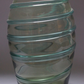 Ribbon Trail Vase - Art Glass