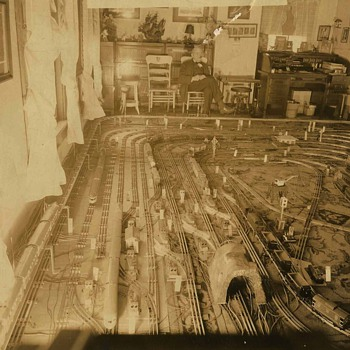 Train layout - Photographs