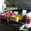 Ocean State Mustang Nationals Show Pedal Car Display