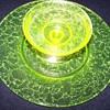 Vaseline Uranium Glass Set