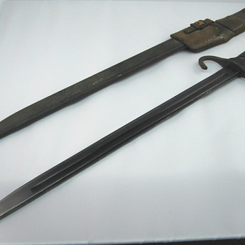 WWII Japanese Jinsen Type 30 PV-03 Bayonet - Military and Wartime