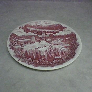 VANCOUVER CANADA  SOUVENIR PLATE - China and Dinnerware