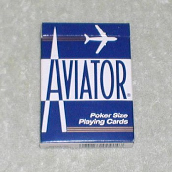 Aviator Playing Cards - Poker - Cards