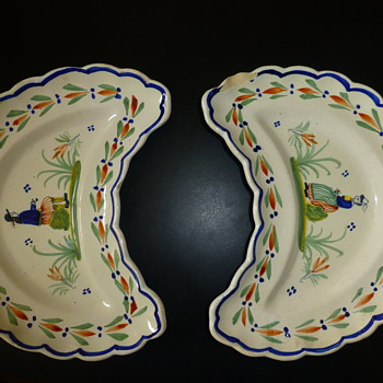Quimper ware - China and Dinnerware