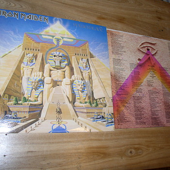 Powerslave iron maiden lp power slave egyptian Eddie
