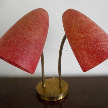 Cheezy Rest Motel Lamp - Mid-Century Modern