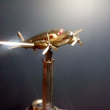 Metal Craft Mfg. DC3 Airplane Ashtray Sort Of