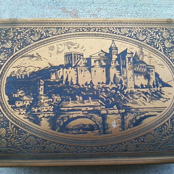 Whitmans chocolate tin