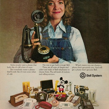 1978 Bell Telephones Advertisement