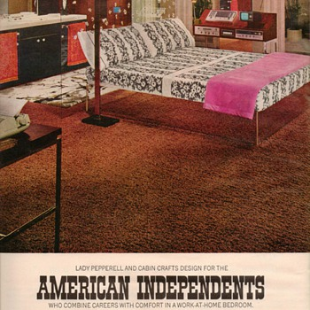 1968 - Bedroom Fashions Advertisement - Advertising