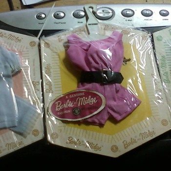 Vintage Barbie Clothes - Dolls