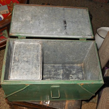 Vintage Preway Cooler with Ice Holder Insert