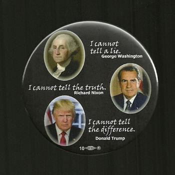 3 more Anti Trump Political Pinback Button's