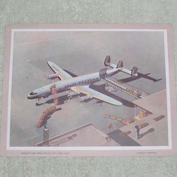 Lockheed Super Constellation Airplane Print - Posters and Prints
