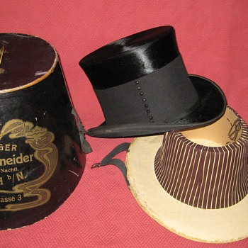 Victorian Era Mourning/Funeral Top Hat