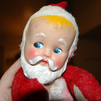 Baby with Santa face - Dolls