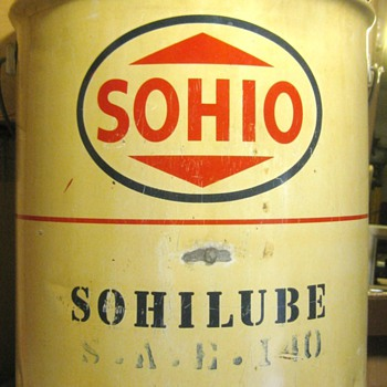 Sohio Oil Can - Petroliana
