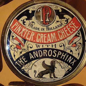 Different products in tins - Advertising