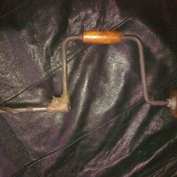 Antique Hand Drill .............................What year is this from? - Tools and Hardware