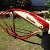 Kevin's 1948 Schwinn B-107 autocycle!