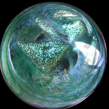 Caithness Art Glass Paperweight -- Scotland - Art Glass