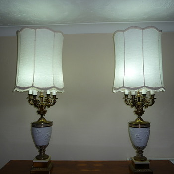 My Cherub lamps