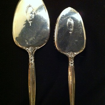 My Grandmother's Sterling Mirror and Brush - Silver