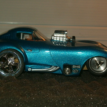 REVELL RIVERSIDE CHEETAH DRAG CAR 1/24TH KEMTRON CHASSIS