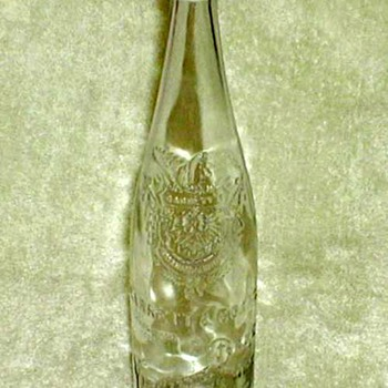 "1910's-1920's - ""Virginia Dare"" Wine Bottle"