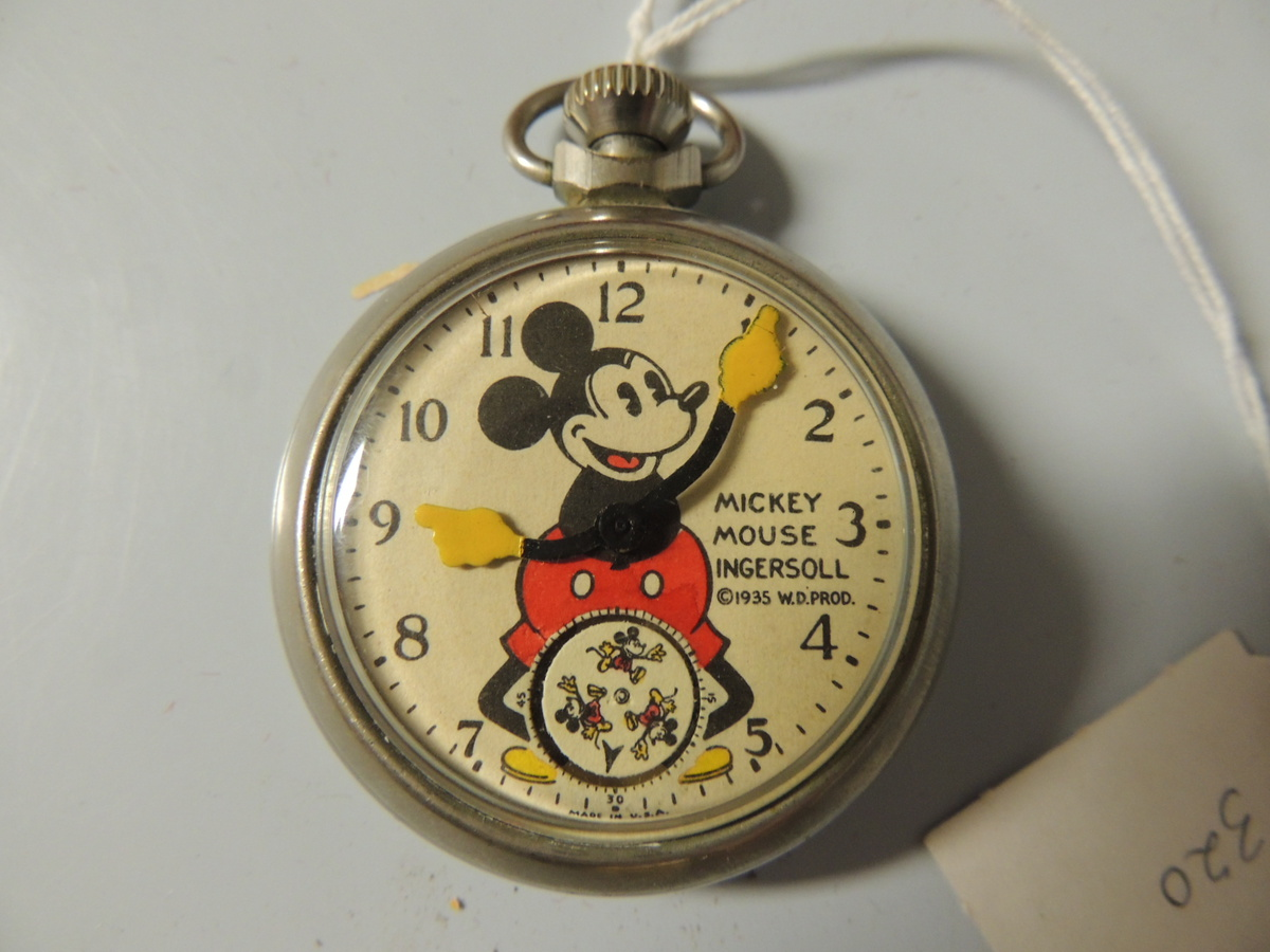mickey mouse pocket 1935 collectors weekly