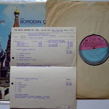 Proof that Decca and London are made from the same plant in England in the Golden Age ! - Records