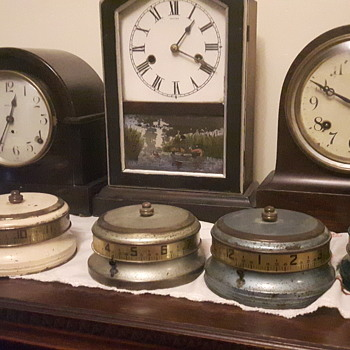 Tape Measure Clocks