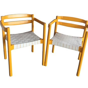 Niels Jorgen Haugesen Chairs Model OD80 Produced by Oddense Maskinsnedkeri