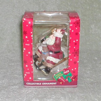 2005 Coca Cola Christmas Collectible Ornament