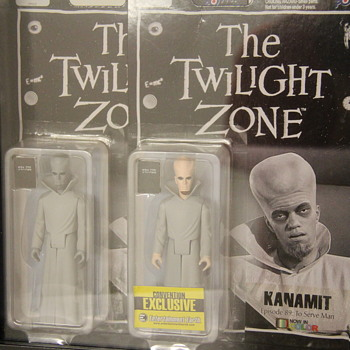 "Twilight Zone ""Kanamit"" Figures!"