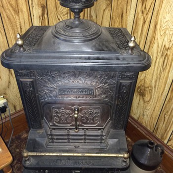 Antique Coal/Wood Stove by Standard - 1884